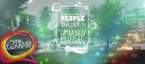 People Drinks Food and Music